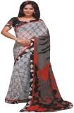 Saloni Printed Fashion Georgette Saree (...