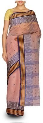 Rudrakshhh Dhakai Embriodered Tant Handloom Cotton Sari