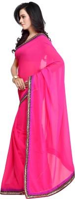 Lime Fashion Self Design Daily Wear Georgette Sari