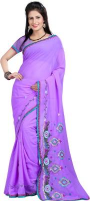 Pruthu Embriodered Fashion Georgette Sari