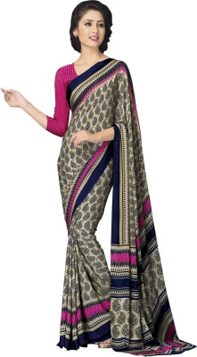 shart Printed Fashion Silk Sari