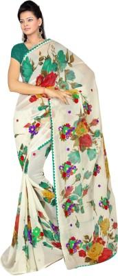 Suchi Fashion Printed Bollywood Georgette Sari