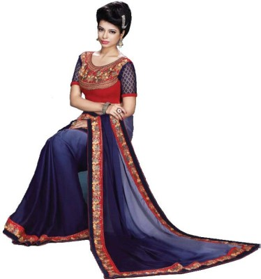 Sakthi Silks Embriodered Bollywood Georgette Sari