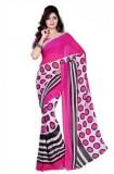 VK FASHION Printed Fashion Georgette Sar...