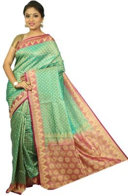 Womilo Woven Bhagalpuri Silk Sari