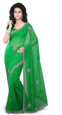 Utsav Fashion Embellished Patola Georgette Sari