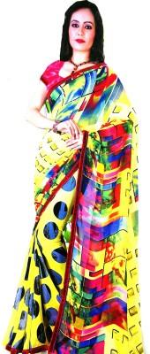 Siddhima Printed Leheria Cambric Sari