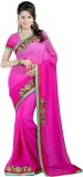 Saree Laxmi Embriodered Fashion Georgett...