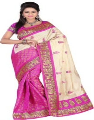 VANI FASHIONS Self Design Fashion Chanderi Sari