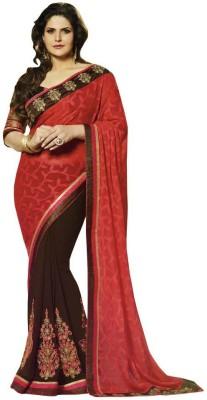 Looks & Likes Embriodered Fashion Handloom Brasso Sari