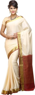 Nalliee Self Design Mysore Synthetic Crepe Sari