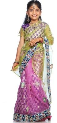 SareeGalaxy Embellished Fashion Net Sari