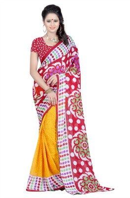 Sanskar Fashion Printed Fashion Silk Sari