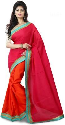 Mutiar Plain Fashion Georgette Sari