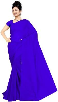 Vishnupriya Fabs Plain Daily Wear Georgette Sari