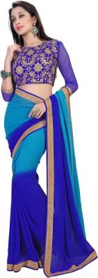 Ethnic For You Self Design Bollywood Georgette Sari