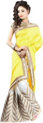 Stylo Designer Self Design Fashion Handloom Silk Sari