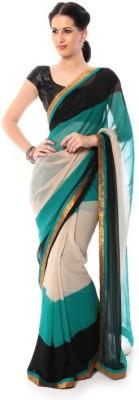 Shree Sidh Plain Fashion Chiffon Sari