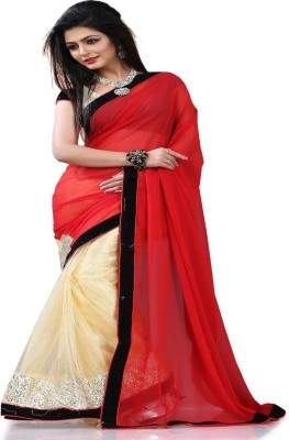 STYLO SAREES Self Design Fashion Net Sari