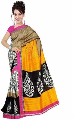 Karan Fashion Printed Bhagalpuri Cotton Sari