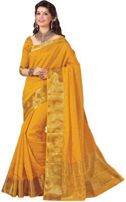 Kuberan Striped Fashion Raw Silk Sari