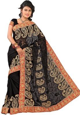 Laxmi Fashion Embriodered Fashion Chiffon Sari