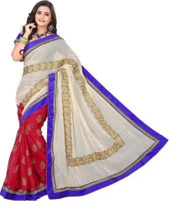 Crafts N Culture Self Design Fashion Net Sari