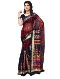 Online Adda Printed Fashion Art Silk Sar...