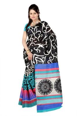 Disneysell Printed Bhagalpuri Art Silk Sari