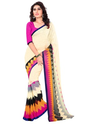 Trendz Printed Fashion Georgette Sari