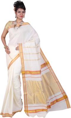 Fashionkiosks Self Design Balarampuram Handloom Cotton Sari