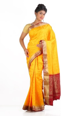 Ankisha Printed Fashion Art Silk Sari
