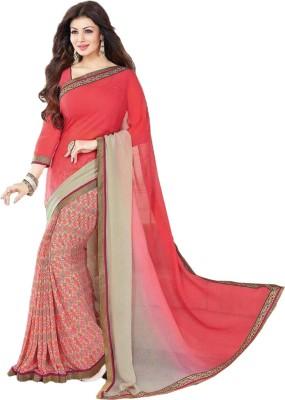 Awesome Fab Printed Fashion Georgette Sari