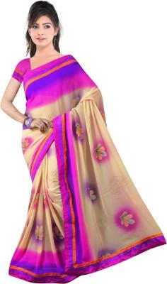 Shreepati Self Design Fashion Georgette Sari