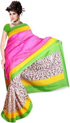 Mahadevi Printed Bollywood Art Silk Sari