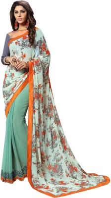 Mathura Embriodered Fashion Chiffon Sari