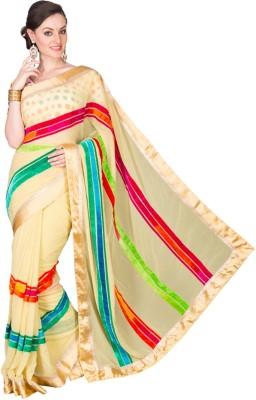 Deepika Couture Self Design Fashion Georgette Sari