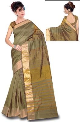 yanatextile Woven Bhagalpuri Banarasi Silk Sari