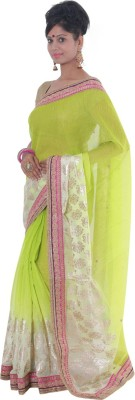 Vikrant Collections Embellished Bollywood Jute Sari