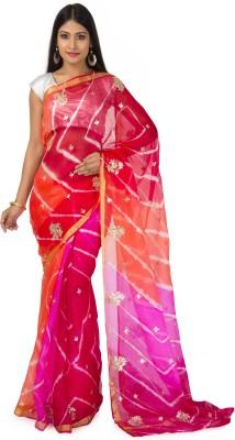 RANAS Self Design Leheria Handloom Kota, Silk Sari