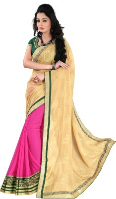 Naresh Sarees Embriodered Daily Wear Crepe Sari
