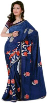 Shree Sanskruti Printed Fashion Synthetic Sari