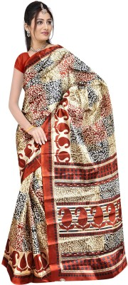 Balaji Fashions Printed Fashion Art Silk Sari