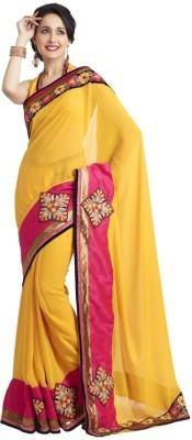 Fashion Self Design Fashion Georgette Sari