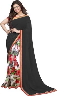 Wama Fashion Printed Bollywood Pure Chiffon Sari