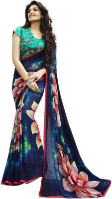 Fashion Zone Digital Prints Fashion Georgette Sari