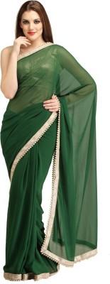 AV FASHION Self Design Fashion Chiffon Sari