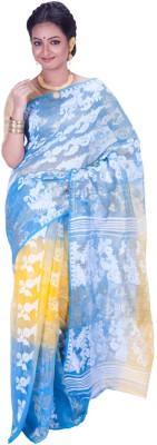 Jhumya Woven Jamdani Handloom Cotton Sari