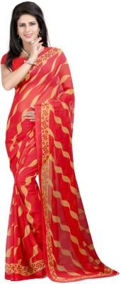 Nilkanth Communication Printed Fashion Georgette Sari