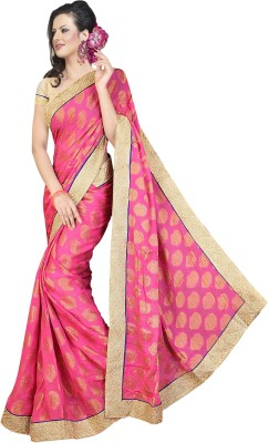 Ethnic For You Printed Fashion Viscose Sari